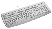 Клавиатура Logitech Internet 350 PS/2 white