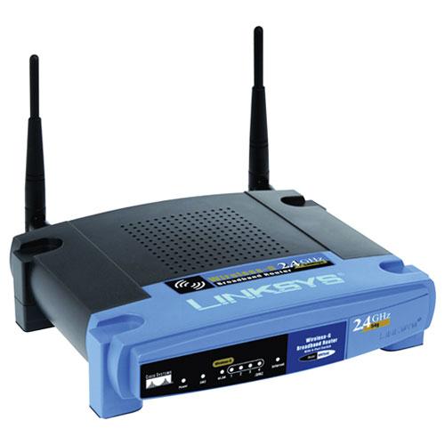 Беспроводный маршрутизатор Linksys WRT54GL-EU