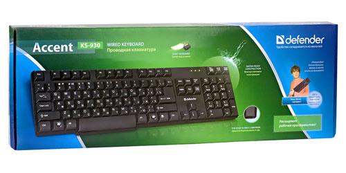 Клавиатура Defender Accent KS-930 (коробка)